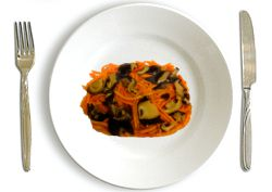 Carrot with Mushrooms